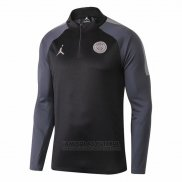 Sueter Paris Saint-germain Jordan 2018-2019 Preto