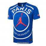 Treinamento Paris Saint-Germain Jordan 2020-2021 Azul