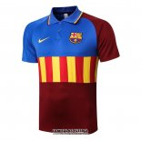 Polo Barcelona 2020-2021 Azul Y Brown
